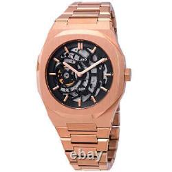 D1 Milano P701 Automatic Skeleton Dial Men's Watch Skbj03