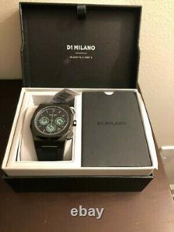 D1 Milano- Rare- Rush Chronograph 41.5 MM $445.00 Fibre De Carbone Verte