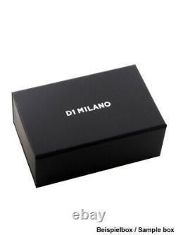 D1 Milano Utbl05 Silver Night Ultra Mince 34 MM Dames 5atm