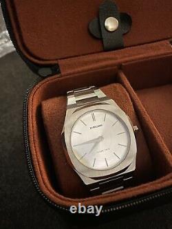 D1 Milano Watch Ultra Thin 40 MM Avec Deux Montres Travel Case