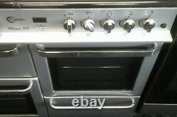 Flacon D'occasion 100cm Double Fuel Range Cooker + Livraison Gratuite Bh Code Postal - Garantie