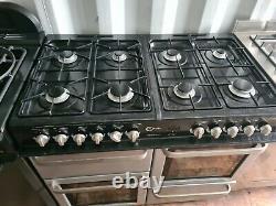 Flavel Milano 100 Double Fuel Range Cooker 100cm Largeur Couleur Argent