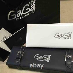 Gaga Milano 5021.3 Montre Ceinture En Caoutchouc Pour Homme Utilisée