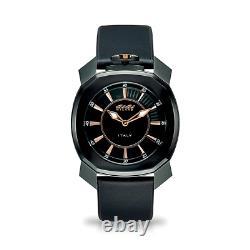 Gaga Milano Frame One Unisex Watch Noir Pvd