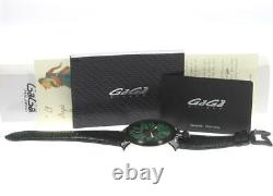 Gaga Milano Manuale 48mm 5013.02s Petites Secondes Main Winding Homme 485871