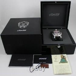 Gaga Milano Manuale 48mm Bionic Skull Model 5060.01s Hand Winding 500 Limited