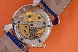 Gagà Milano Manuale Unisex Mechanical Watch 48mm Mosaico Bleu