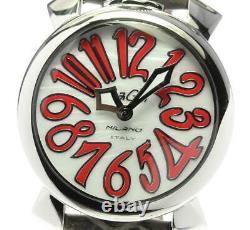 Gaga Milano Manuale40 5020.10 Shell Cadran Quartz Ladies Watch 596115