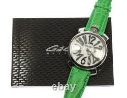 Gaga Milano Manuale40 5020 White Dial Quartz Ladies Watch 536564