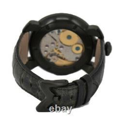 Gaga Milano Manuale48mm Petite Seconde 5012.03s Hand Winding Men's Watch J#98180
