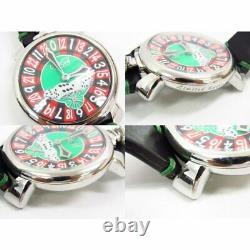 Gaga Milano Manuare 48 Las Vegas 5010. Lv. 01s Roulette 500 Limited Montres Pour Hommes