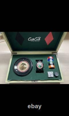 Gaga Milano Manuare 48mm Las Vegas 5012. Lv01s Casino Roulette Trump Montre Manuelle