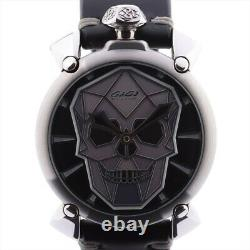 Gaga Milano Manuare Bionic Skull Limited À 500 Pièces 5060 324/500 Inoxydable