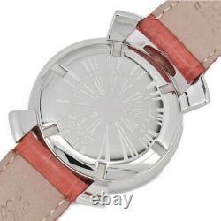 Gaga Milano Manuel 40 5020-2 Coquille Grise Dial Quartz Ladies Watch F#97600