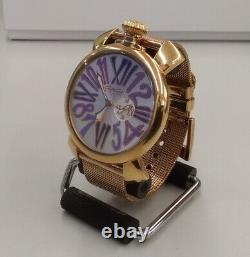 Gaga Milano Quartz Analogique 5081.3 #8896 Montre-bracelet