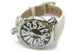 Gaga Milano Watch Manuale 5020 40mm Quartz Homme Noir X Blanc 872777