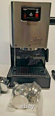 Gaggia Milano Classic Ri9303/47 Accueil Espresso Machinemint Cond Dans La Boîte Originale