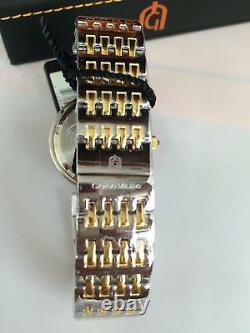 Giorgio Milano Quartz Chronograph Sapphire Crystal, Montre Lunette Swarovski