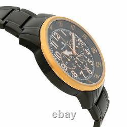 Giorgio Milano Stainless Steel Chronograph Mens Quartz Montre Gm854rgl-bk