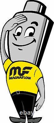 Magnaflow 51005 Convertisseur Catalytique À Haute Pression Ovale 2,25 In/out Oem Grade Obdii