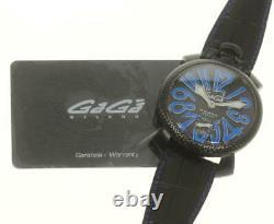 Manuel Gaga Milano48 5016. Eda07 Hand Winding Men's Watch 560186