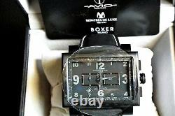 Montres De Luxe Milano Homme 169 Estremo Limited Edition Tout Black Chronograph