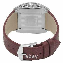 Nouveau Breil Milano Bw0511 Femmes Mediterraneo Analog Chrono Silver Dial Watch 100m