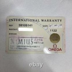 Omega Speedmaster Ac Milan Limited Edition 1999 3810.51.41 Cadran Noir Automatique