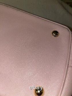Prada Milano Beige Leather Designer Bag Sac À Main Shopper Galleria Saffiano Sac À Main